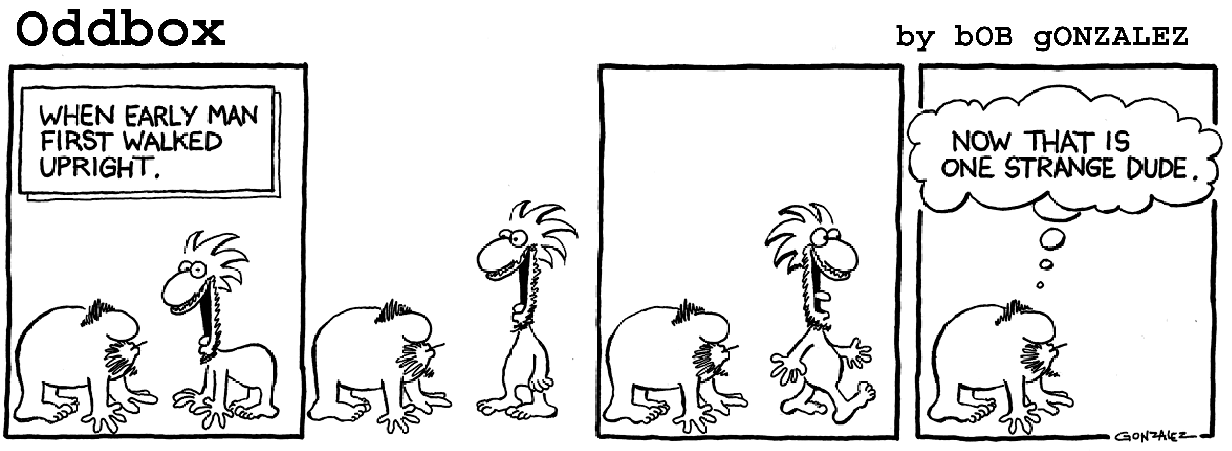 Evolution of the comic strip